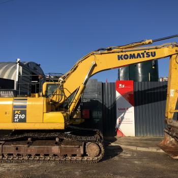 RS Machinery-<em>Edit Shop: Machine</em> KOMATSU PC210 LC-10